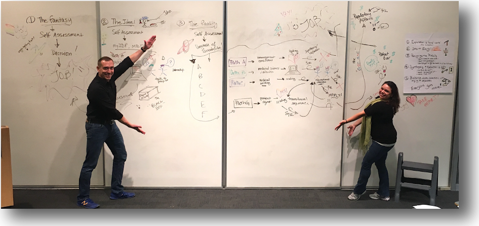 UCSF MIND Program: The Fantasy, The Ideal, and the Reality Whiteboard Talk